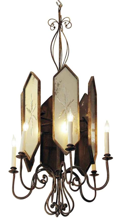 venetian style chandelier deco venetian style chandelier with etched mirrored glass