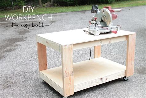 diy sturdy table legs how to build an easy sturdy workbench diy workbench funky junk and woodworking