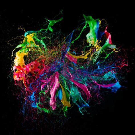 mesmerizing photos mesmerizing high speed photos capture paint covered