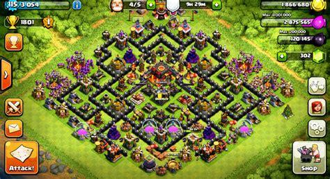 layout coc pertahanan terkuat adakah base war pertahanan coc th 7 terkuat di dunia