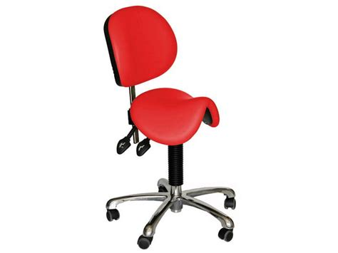 Saddle Chair With Backrest by Saddle Seat With Backrest