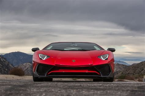 lamborghini front 2015 lamborghini aventador review and rating motor trend