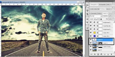 Belajar Membuat Novel Fantasi | membuat foto fantasy dengan photoshop