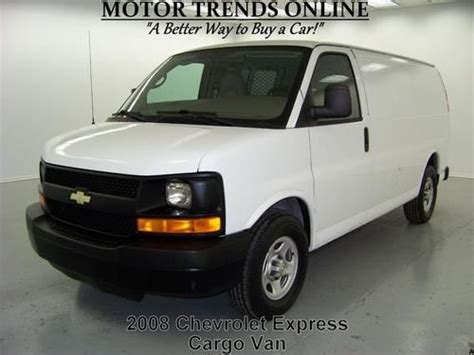 how to learn about cars 2008 chevrolet express 2500 user handbook buy used 2008 chevy express 1500 cargo adrian steel partition bins 53k houston texas in alvin