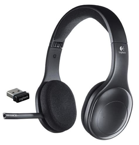 Headset Bluetooth Logitech n logitech h800 wireless bluetooth headset for pc tablets smartphones 981 000337 ebay