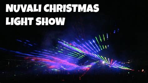 nuvali christmas light show youtube