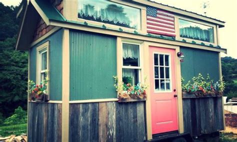 incredible tiny homes americana perfection achieved in 128sf tiny house by