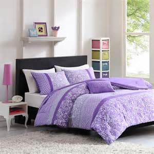 purple floral bedding xl comforter