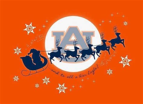a very war eagle christmas christmas auburn