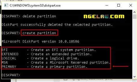 format flashdisk lewat diskpart flashdisk tidak bisa diformat ini cara memperbaikinya