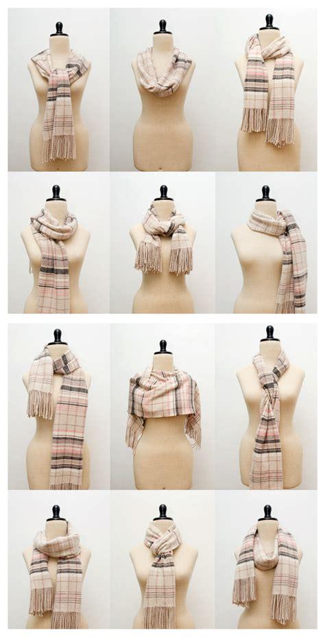 38 popular ways to tie a scarf tip junkie