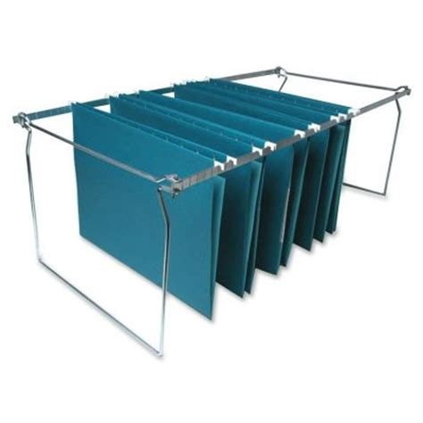 file cabinet hanging rails sparco hanging file folder frame letter size