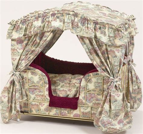 pet canopy bed canopy pet bed dogs pinterest