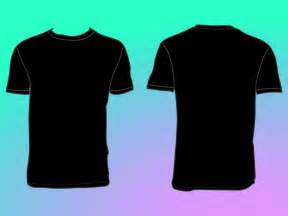 Tshirt Outline Back by Front And Back T Shirt Outline Clipart Best