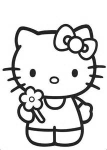 happy birthday kitty coloring pages images amp pictures becuo