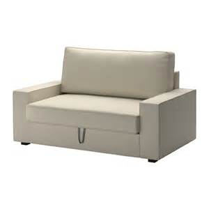 ikea sofa 2 seater vilasund two seat sofa bed ramna beige ikea