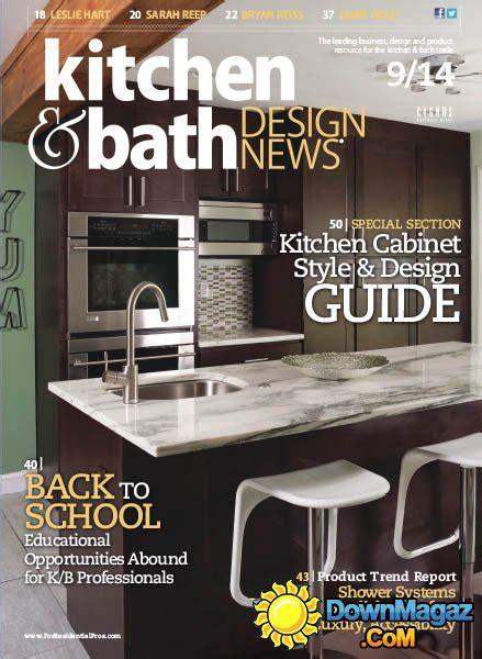 kitchen design news kitchen bath design news september 2014 187 download pdf