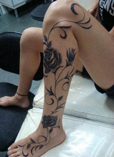 calf tattoo inspiration latest leg tattoos for la girls 3 tattoo inspiration