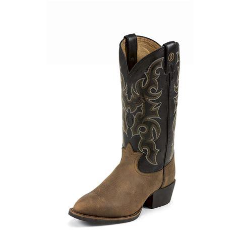 tony lama boots for s tony lama 174 13 quot bridle 3r western boots walnut