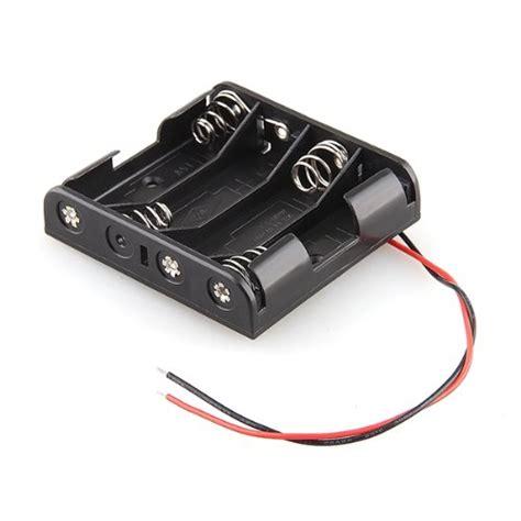 porta batterie stilo contenitore per 6 stilo aa porta batterie in plastica con