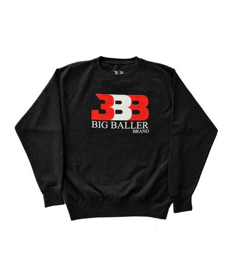 Hoodie Logo Big Baller Brand Bbb big baller brand bsg inc