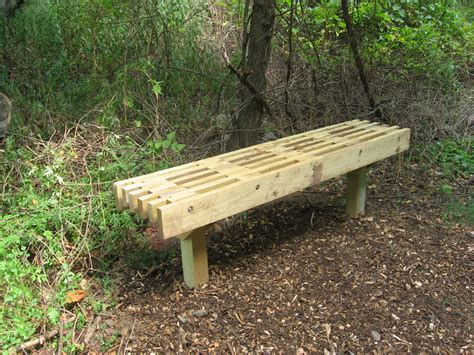 boy scout bench plans five benches added to meadows highland park environment