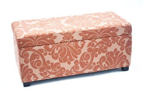 Printed Storage Ottoman Bolbolac Floral Print Storage Ottoman With Button Home Furniture Living Room Furniture