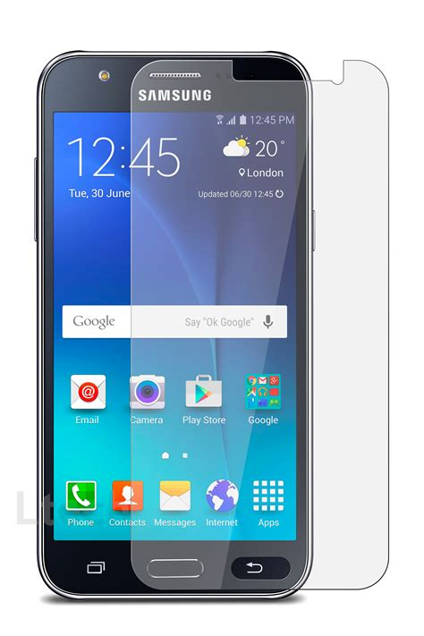 samsung galaxy j7 sm j700 tempered glass screen protector anti scratch 9h hd ebay