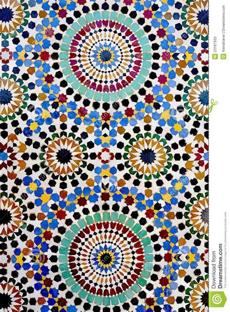 traditional islamic mosaic stock image image  antique