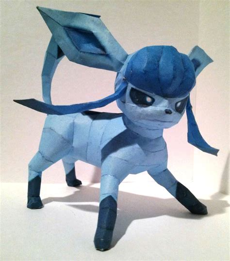 Glaceon Papercraft - glaceon papercraft by twizz3985 on deviantart