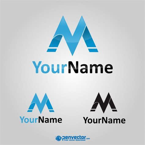 free logo design letter m logo letter m design free vector