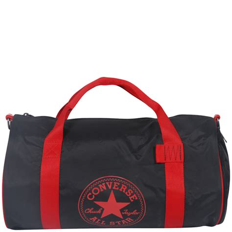 Jual Converse Duffle Bag converse small duffle bag in phantom black mens accessories thehut
