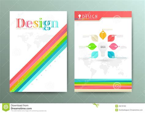 layout vector design design abstract vector brochure template flyer layout