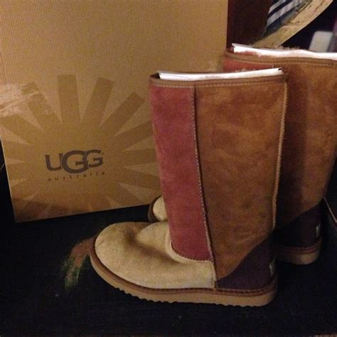 multi colored uggs 67 ugg boots ugg australia multi color boots from
