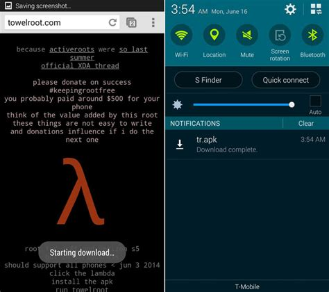 jailbreak my android android rooter t 233 l 233 phone en un clic avec towelroot