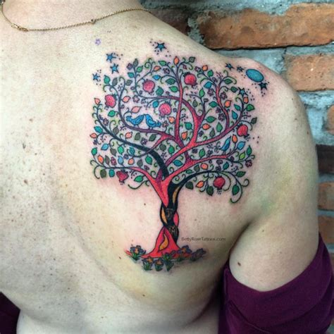cypress tree tattoo 85 best tree designs meanings family inspired
