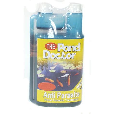 parasite treatment tap 1000ml pond doctor anti parasite fish pond treatment tap from discount leisure