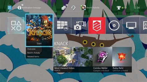 ps4 themes bug ps4 s major 2 0 update arrives next week with share play