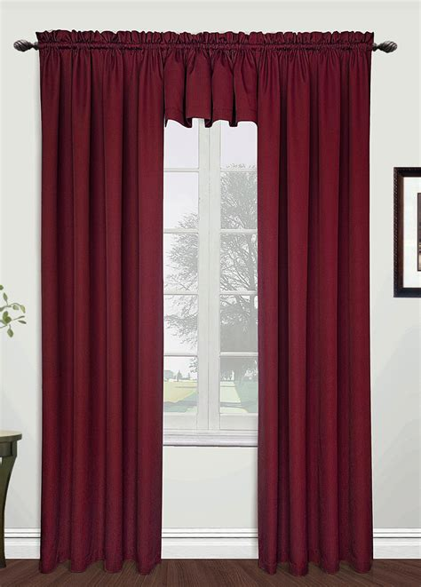 picture of curtains metro 54 x 84 panel burgundy united view all curtains