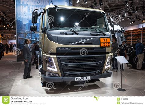 volvo fm truck editorial stock image image  germany