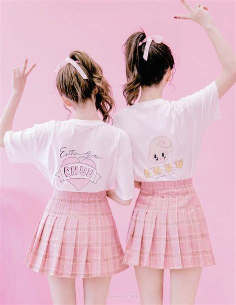 Korea Pink pink pastel korean fashion photo