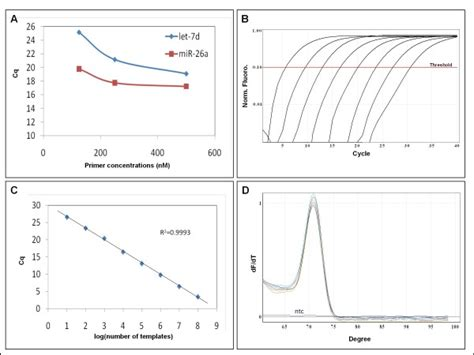 qpcr template mir specific qpcr on synthetic templates with dna primers