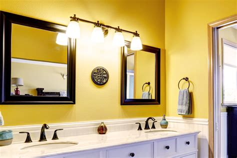 bathrooms with yellow walls bathroom materials bathroom wall material houselogic bathrooms