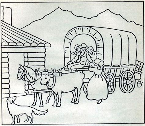 coloring pages little house on the prairie vintage pioneer life coloring pages school ideas