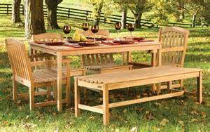 Teak outdoor dining table set the best wood furniture