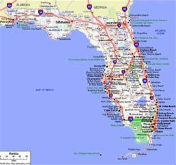 florida state road map and links to all things florida