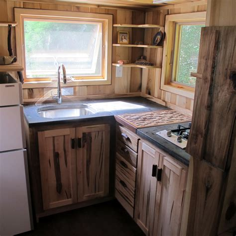 Tiny House Kitchen Cabinets Owl Creek Happenings Tumbleweed Traveling