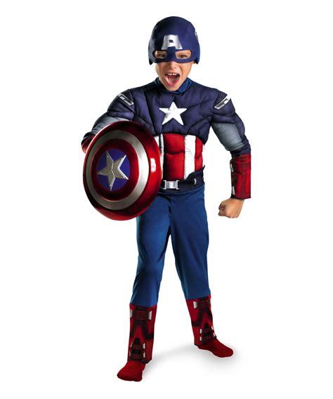 Costum Captain America the captain america costume
