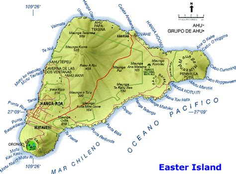 easter island map easter island map free printable maps