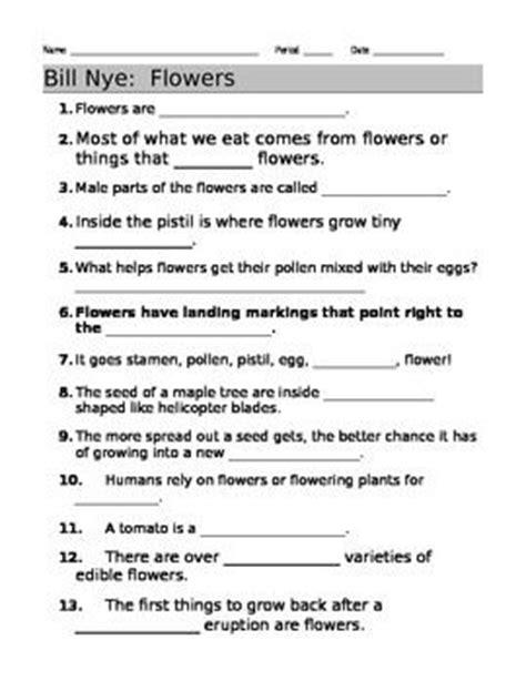bill nye plants worksheet bill nye plants worksheet worksheets releaseboard free printable worksheets and activities